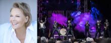 Arja Saijonmaa uppträder på Victoriakonserten