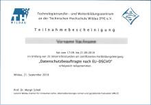 Datenschutzbeauftragte in öffentlichen Verwaltungen: Zertifizierter Fortbildungslehrgang an der TH Wildau