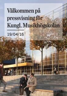 Faktablad Kungliga Musikhögskolan, Stockholm