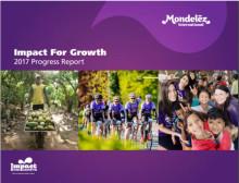 Mondelēz International levererar mot hållbarhetsmål och redovisar  Impact for Growth Progress Report