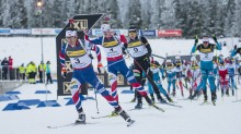 Laguttak mixed og single mixed stafett