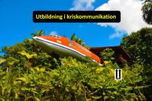Kriskommunikation – utbildning och aktiviteter