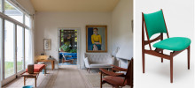 Exhibition about the furniture architect Finn Juhl at Nationalmuseum