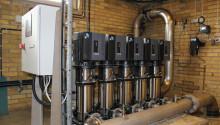 Grundfos har levererat ny tryckstegringsanläggning till Vattenverket i Skivarp