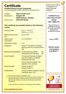 PHI Certifikat GOLD RX
