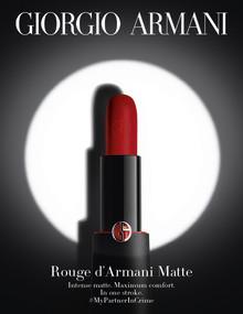 Voita viettelysten peli — Giorgio Armani Rouge D'Armani Matte