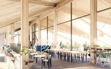Arcona bygger med trä på Trikåfabriken