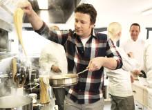 Scandic bjuder på presslunch tillsammans med Jamie Oliver