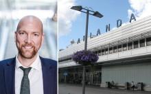 Landstinget satsar på att få mer flyg till Arlanda