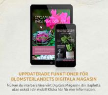 Blomsterlandets digitala magasin - nu även för mobil!
