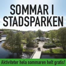 Stadsparken fylls med aktiviteter hela sommaren