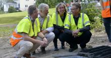 Ministerbesök hos Övik Energi:  Bredband – en nationell angelägenhet