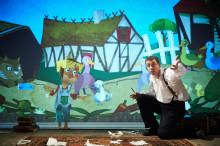 H.C. Andersen som digitalt teatereventyr på Taastrup Teater