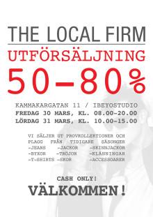Utförsäljning - The Local Firm