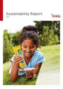 Orkla Sustainability Report 2014