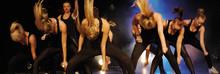 18:e dansuppvisningen - show på Borgen