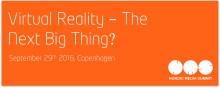 Virtual Reality- The Next Big thing?