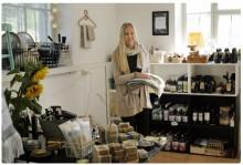 Handdukar väckte idén om inredninsbutik