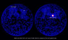 Kosmisk explosion blottar brister i teorier om universum