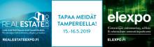 Lehdistökutsu - tervetuloa Real Estate Expo & elexpo 2019 -tapahtumakokonaisuuteen