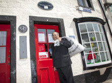 NEW POSTMASTER AND A NEW-LOOK FOR THE WORLD'S OLDEST POST OFFICE