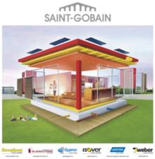 Sex Saint-Gobainföretag tillsammans på Nordbygg och på webben