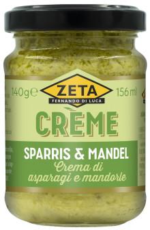 Vårens mest älskade primör i nytt format - Zeta Crème med sparris & mandel