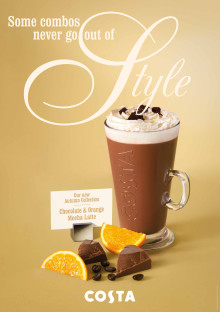 Costa's Autumn Collection Menu Has Arrived (2013)!