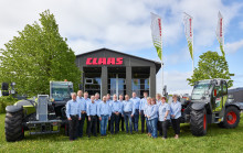 CLAAS distribution i Danmark