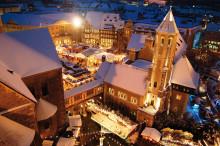 En julresa genom Nordtysklands historiska städer