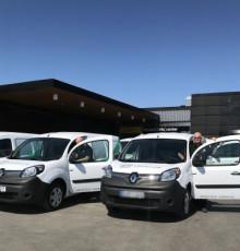 Renault Kangoo Z.E. bidrar till Castellums hållbarhetsmål