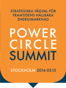 Power Circle Summit, 15 mars 2016