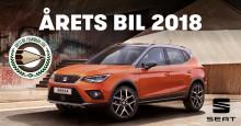SEAT Arona kåret som Årets Bil i Danmark 2018
