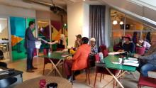 Lettiska spjutsspetsforskare inspireras av Hudiksvall