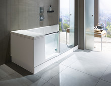 Duravit: Walk-in shower och badkar
