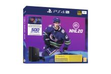 PlayStation 4 Pro och EA SPORTS™ NHL® 20-bundling släpps den 13 september.