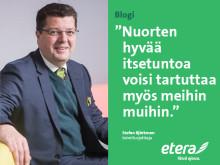 Stefan Björkman: Tartutetaan nuorten hyvää itsetuntoa meihin vanhempiin