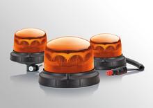 Hella RotaLED Compact: ett robust LED-varningsljus med hög varningseffekt