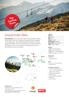 Fact Sheet: Top Cycling Tour Graubünden Bike