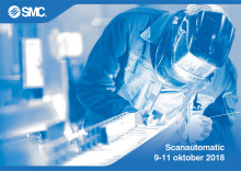 SMC presenterar framtidens automation på Scanautomatic