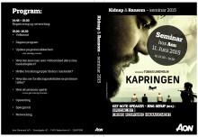 Kidnap & Ransom Seminar 11.juni 2015