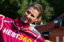 Prinsesse Märtha Louise og Hest360-fondets første stipendvinnere