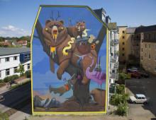 Espooseen maalataan syyskuussa kaksi suurikokoista muraalia
