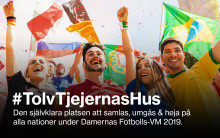 Tolv Stockholm slår ett slag för damfotboll och ungdomsidrott under  fotbolls-VM för damer 2019