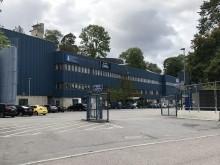 Stockholm Vatten och Avfall spolar pappret