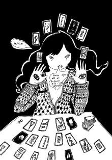 En nästan sann historia om att ofrivilligt bli spåkvinna – Äkta Spåman
