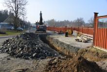 Omfattande projekt frigör E20 från VA-ledningar