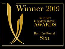 Sixt kåret til bedste biludlejningsselskab af erhvervskunder