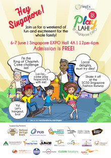 SingEx Presents SG50 PlayLah! @ Singapore EXPO