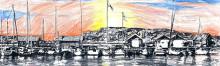 Konstprojekt för integration i båtlivet